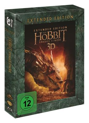 Der Hobbit: Smaugs Einöde - Extended Edition 3D