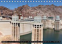 Der Hoover Staudamm (Tischkalender 2019 DIN A5 quer) - Produktdetailbild 2