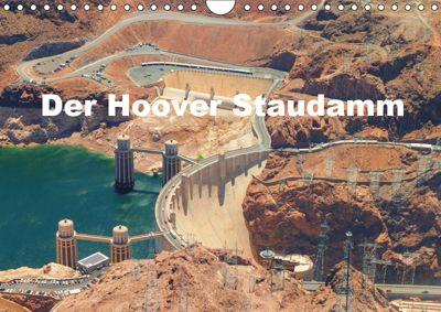 Der Hoover Staudamm (Wandkalender 2019 DIN A4 quer), Volker Krahn