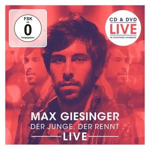 Der Junge, der rennt (Live) (CD+DVD), Max Giesinger