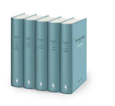 Der junge Hacks, 5 Bände - Peter Hacks  