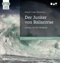 Der Junker von Ballantrae, 1 MP3-CD, Robert Louis Stevenson