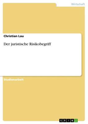 Der juristische Risikobegriff, Christian Lau