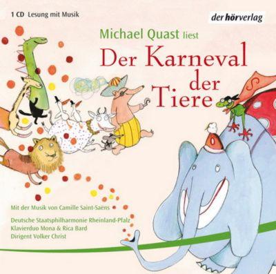 Der Karneval der Tiere, Audio-CD, Michael Quast