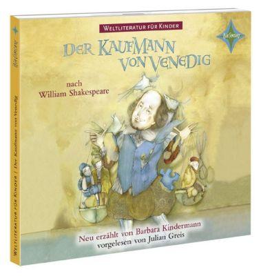Der Kaufmann von Venedig, 1 Audio-CD, William Shakespeare