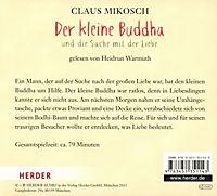 Der kleine Buddha und die Sache mit der Liebe, 1 Audio-CD - Produktdetailbild 1