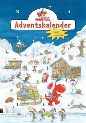 Der kleine Drache Kokosnuss - Adventskalender, Ingo Siegner