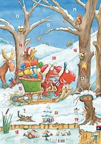 Der kleine Drache Kokosnuss Adventskalender - Auf dem Weihnachtsmarkt - Produktdetailbild 1