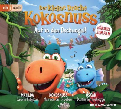 Der kleine Drache Kokosnuss - Auf in den Dschungel, 1 Audio-CD, Ingo Siegner