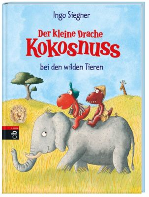 Der kleine Drache Kokosnuss bei den wilden Tieren - Ingo Siegner |