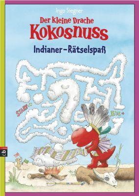 Der kleine Drache Kokosnuss, Indianer-Rätselspaß, Ingo Siegner