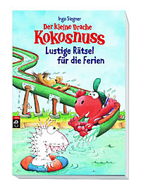 Der kleine Drache Kokosnuss - Lustige Rätsel für die Ferien - Produktdetailbild 1