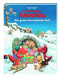 Der kleine Drache Kokosnuss - Mein großes Adventskalender-Buch - Produktdetailbild 1