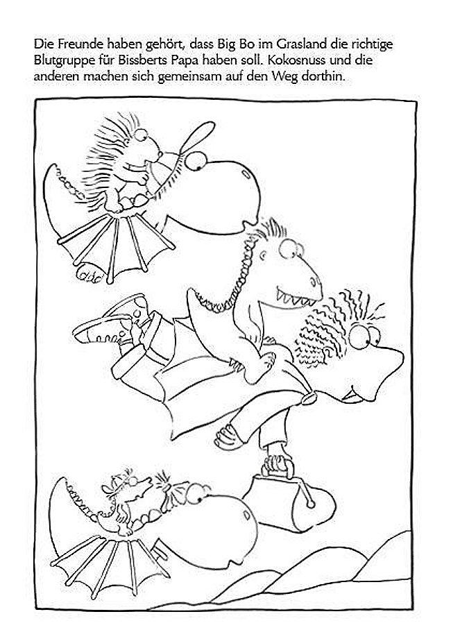 Der Kleine Drache Kokosnuss Rätselspaß Für Die Ferien Buch