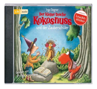 Der kleine Drache Kokosnuss und der Zauberschüler, 1 Audio-CD, Ingo Siegner