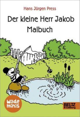 Der kleine Herr Jakob. Malbuch, Hans Jürgen Press