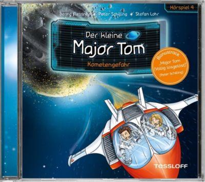 Der kleine Major Tom - Kometengefahr, 1 Audio-CD, Bernd Flessner, Peter Schilling