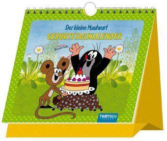 Der kleine Maulwurf, Geburtstagskalender, Zdenek Miler