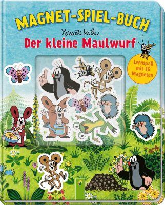 Der kleine Maulwurf Magnet-Spiel-Buch, Laura Teller