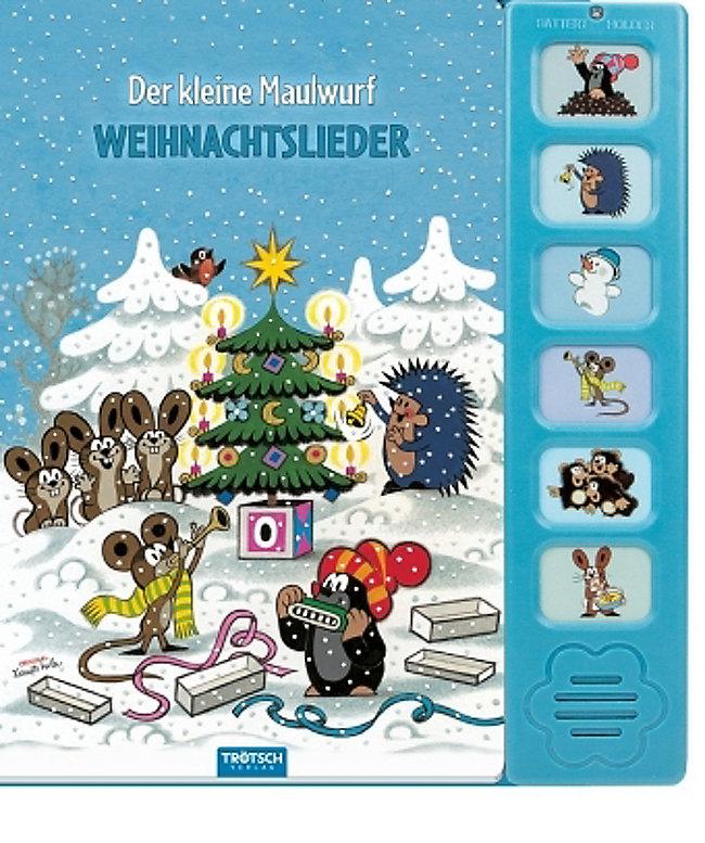 Der kleine Maulwurf - Weihnachtslieder, m Soundeffekten Buch