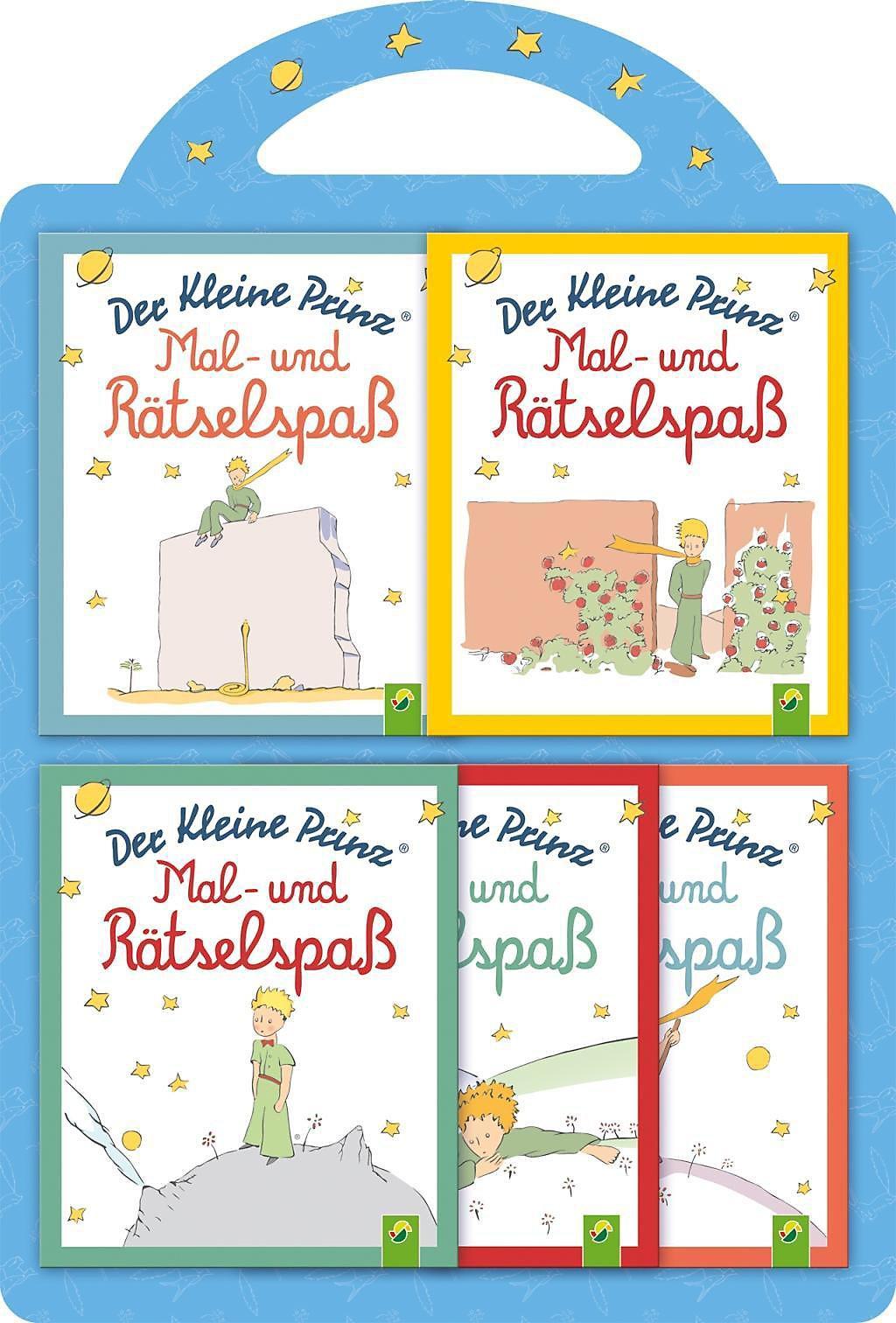 Der Kleine Prinz Mal Rätselspaß 5 Minibücher Buch Kaufen