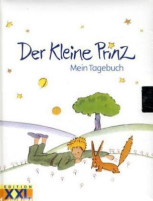Der Kleine Prinz, Mein Tagebuch, m. Schloss
