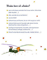 Der Kleine Prinz, Mein Tagebuch, m. Schloss - Produktdetailbild 3