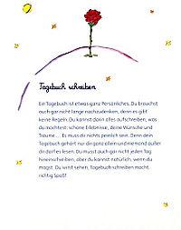 Der Kleine Prinz, Mein Tagebuch, m. Schloss - Produktdetailbild 2