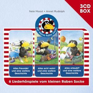 Der kleine Rabe Socke - 3CD Hörspielbox Vol. 1, Rabe Socke