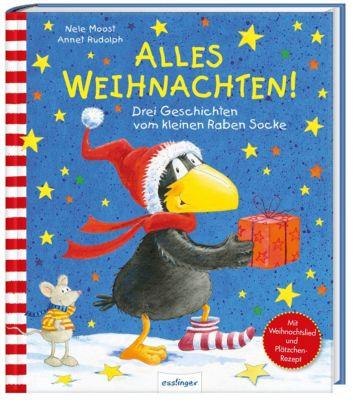 Der kleine Rabe Socke: Alles Weihnachten! - Nele Moost |