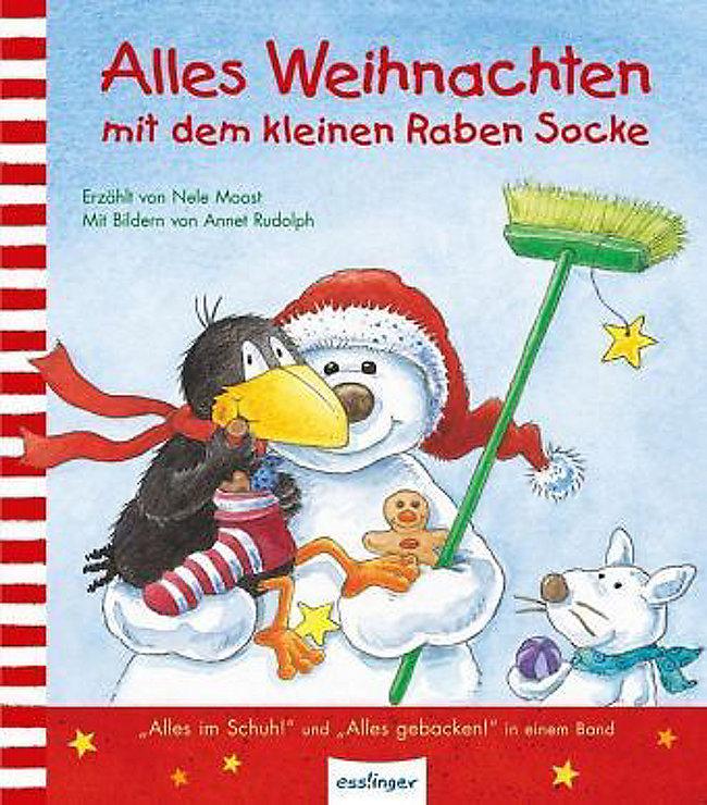 Der kleine Rabe Socke: Alles Weihnachten mit dem kleinen Raben Socke ...
