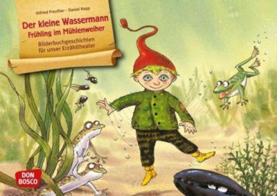 Der kleine Wassermann - Frühling im Mühlenweiher. Kamishibai Bildkartenset
