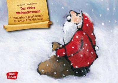 Der kleine Weihnachtsmann. Kamishibai Bildkartenset. - Anu Stohner |
