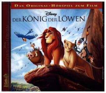 Der König der Löwen, 1 Audio-CD, Walt Disney