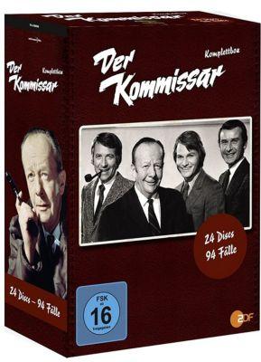 Der Kommissar - Komplettbox, Diverse Interpreten