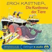 Der Konferenz der Tiere, 1 Audio-CD, Erich Kästner