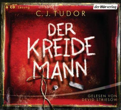Der Kreidemann, 6 Audio-CDs - C. J. Tudor  