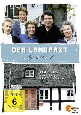 Der Landarzt - Staffel 1, Mites van Oepen, Jochen Hauser, Bernd Schirmer, Maike von Haas, Herbert Lichtenfeld