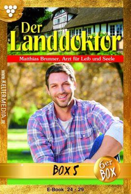 Der Landdoktor Box: Der Landdoktor Jubiläumsbox 5 – Arztroman, Christine von Bergen