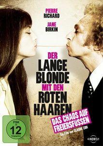 Der lange Blonde mit den roten Haaren, Michel Fabre, Pierre Richard, Claude Zidi
