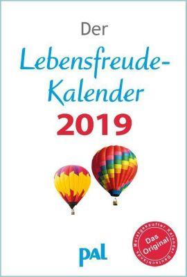 Der Lebensfreude-Kalender 2019, Rolf Merkle, Doris Wolf