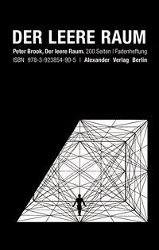 Der leere Raum, Peter Brook