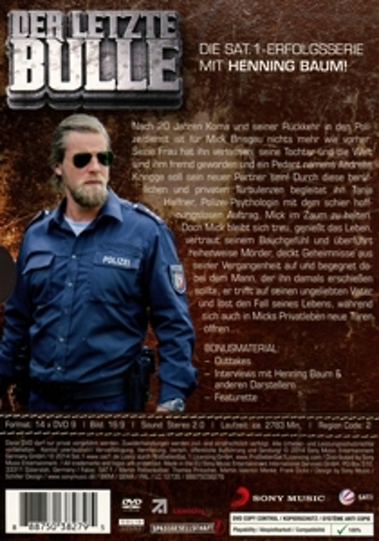 Der Letzte Bulle Staffel 1 5 Dvd Bei Weltbildde Bestellen