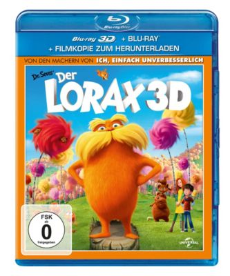 Der Lorax - 3D-Version, Ken Daurio, Cinco Paul, Dr. Seuss