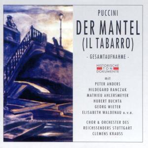 Der Mantel (Il Tabarro) (Ga), Chor U.Orch.Des Reichssenders Stuttgart