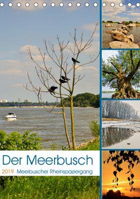 Der Meerbusch - Meerbuscher Rheinspaziergang (Tischkalender 2019 DIN A5 hoch), Bettina Hackstein