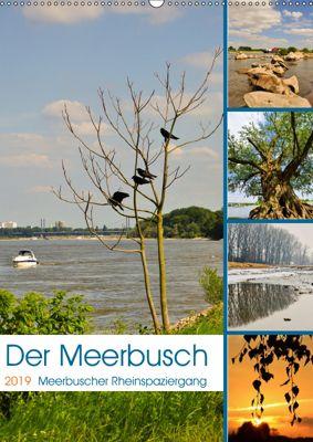Der Meerbusch - Meerbuscher Rheinspaziergang (Wandkalender 2019 DIN A2 hoch), Bettina Hackstein