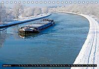 Der Mittellandkanal - 325 Kilometer Wasserstrasse (Tischkalender 2019 DIN A5 quer) - Produktdetailbild 1