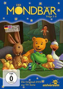 Der Mondbär Folge 1-8, DVD, Rolf Fänger, Ulrike Möltgen