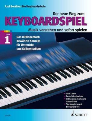 Der neue Weg zum Keyboardspiel, Axel Benthien